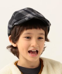 SHIPS KIDS/SHIPS KIDS:ウール チェック キャップ/502626338