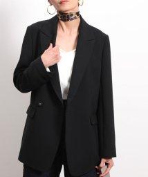 ROPE' mademoiselle/【セットアップ対応】ダブルクロスロングジャケット/502626919