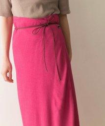 URBAN RESEARCH/muller of yoshiokubo Wrap skirt satelite/502627102