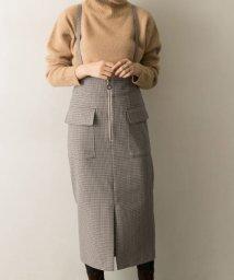 URBAN RESEARCH/フロントZIPサス付スカート/502627220
