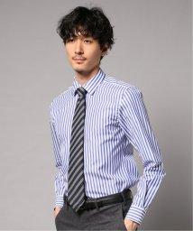 EDIFICE/ナローセミワイド  ブルーストライプ シャツ/502627815