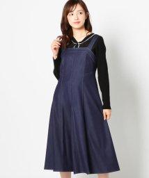 MISCH MASCH/配色ステッチジャンパースカート/502482537