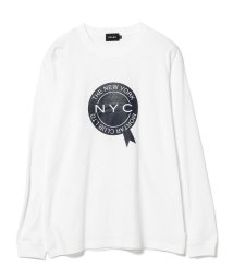 BEAMS MEN/BEAMS / NYC プリント Tシャツ/502535676