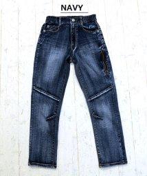 L.COPECK/ハイSTデニム切替パンツ(150~160cm)/502603369
