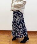 fredy emue/花柄パネル切り替えスカート/502614540
