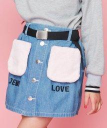 JENNI love/ファーポケットスカート風ショーパン/502623229