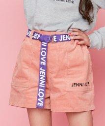 JENNI love/ベルト付きコーデュロイショーパン/502623270