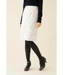 NATURAL BEAUTY BASIC/ロココジャガードタイトスカート◆/502624092