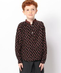 TOMORROWLAND BOYS & GIRLS/SOULEIADO OEILLET/CHARMILL ハーフスカーフ付きシャツ/502627885