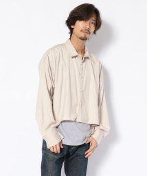 GARDEN/Toironier/トワロニエ/short shirts/ショートシャツ/502627931