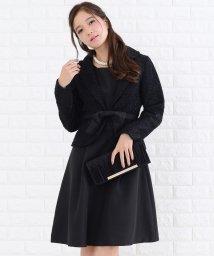 Lace Ladies/ツイードジャケットリボン付ツーピーススーツ・セットアップ・ワンピース・ドレス/502628362