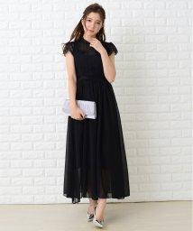 Lace Ladies/レース×シフォンロングワンピース・ドレス/502628426
