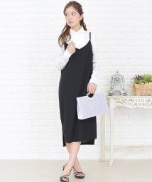 Lace Ladies/サロペット風ジャンパースカート オールインワン・ワンピース/502628492