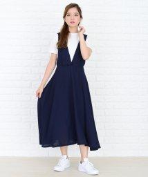 Lace Ladies/深めVネックジャンパースカート・オールインワン/502628494