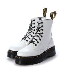 DR.MARTENS/ドクターマーチン Dr.Martens ジェイドン 8ホール ブーツ (JADON 8HOLE BOOTS)15265100 (WHITE)/502629522