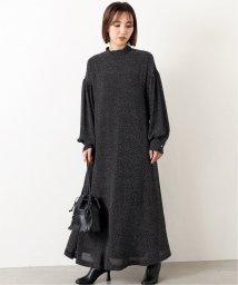 journal standard  L'essage /【OKIRAKU/オキラク】×LESSAGEボウタイ ドットワンピース/502631873