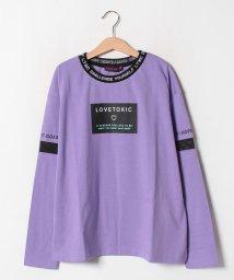 Lovetoxic/衿リブTシャツ/502605341