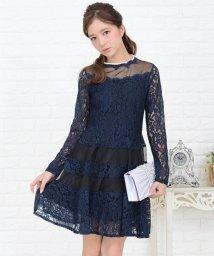 Lace Ladies/花柄レースレイヤードドレス・ワンピース/502628444