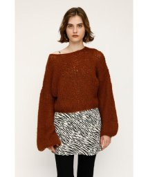 SLY/MOHAIR MIX C/N TOPS/502633115
