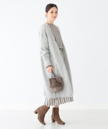 BEAMS OUTLET/Demi-Luxe BEAMS / モヘヤ ロングカーディガン/502562062