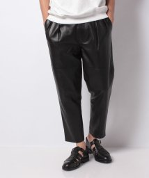 SHIPS MEN/【SHIPS JET BLUE】UNFIL:LEATHER TROUSERS          /502543365