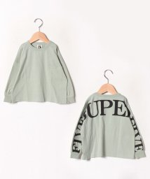 SUPERFIVE/オーバーサイズ長袖Tシャツ/502581170