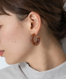 URBAN RESEARCH Sonny Label/アクリルフープピアス/502633871