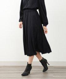 TO BE CHIC/【XSサイズ~】【WEB限定】【Tricolore】【ウォッシャブル】スウェードタッチサテンスカート/502513814