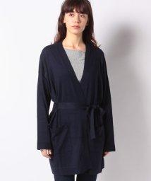 BENETTON (women)/ベルト付きミドル丈カーディガン/502604665