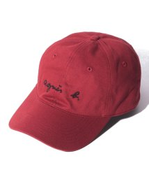 agnes b. HOMME/GT47 CASQUETTE ロゴキャップ/502621104