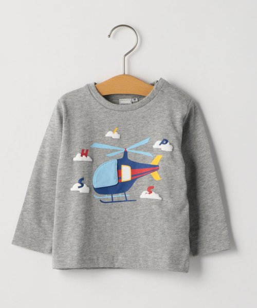 SHIPS KIDS(シップスキッズ)/SHIPS KIDS:かくれんぼ TEE(80~90cm)/512040470