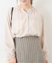 La TOTALITE/キュプラポリギャザーシャツ◆/502635443