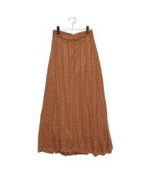 STYLEBLOCK/スタイルブロック STYLEBLOCK 模様編みマーメイドスカート (キャメル)/502636683