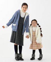 KUMIKYOKU KIDS/【150-170cm】アラン柄ニット アウター/502636936