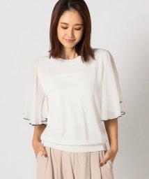 Mew's/配色半袖ニット/502588391