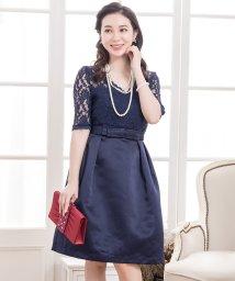 Lace Ladies/ウエストリボンレースワンピース・ドレス/502628329