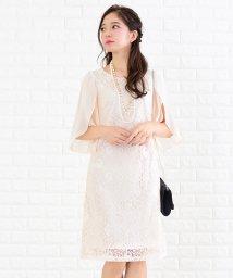 Lace Ladies/シフォンフレア袖レースワンピース・ドレス/502628336