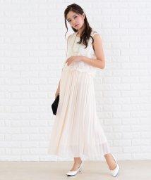 Lace Ladies/ノースリーブロング丈花柄レースワンピース・ドレス/502628345