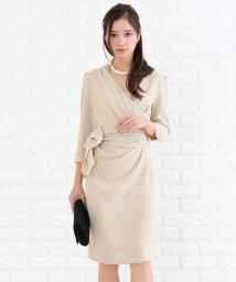 Lace Ladies/サイドリボン付き七分袖ワンピース・ドレス/502628351