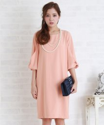 Lace Ladies/リボン袖コクーンワンピース・ドレス/502628352