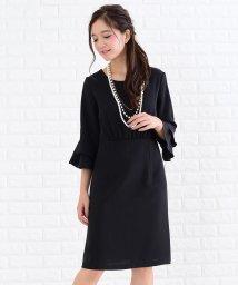 Lace Ladies/ラッフル袖ハイウエストワンピース・ドレス/502628357