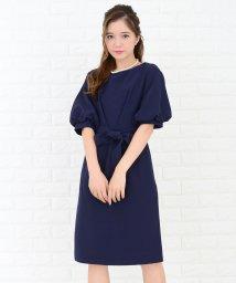 Lace Ladies/ウエストリボン付きバルーン袖ワンピース・ドレス/502628374