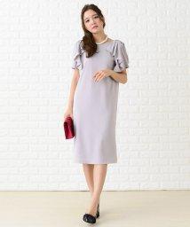 Lace Ladies/ショルダーフリルシンプルデザインワンピース・ドレス/502628393