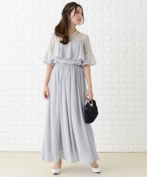 Lace Ladies/レース刺繍マキシ丈ワンピース・ドレス/502628397