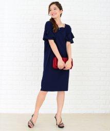 Lace Ladies/盛り袖シンプルコクーンタイプワンピース・ドレス/502628500