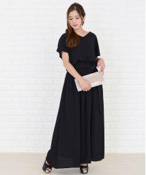 Lace Ladies/ベルト付きカットソーマキシワンピース/502628501