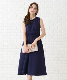 Lace Ladies/ひねりベルト風ノースリーブロングワンピース・ドレス/502628520
