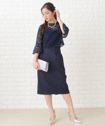 Lace Ladies/3way花柄レース七分袖セットアップワンピース・ドレス/502628558