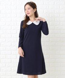 Lace Ladies/丸襟Aラインシンプルワンピース・ドレス/502628568
