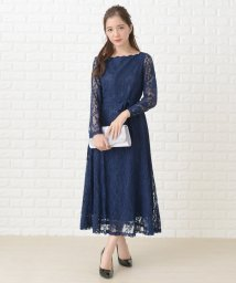 Lace Ladies/オフショルダー総レースロングワンピース・ドレス/502628576